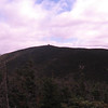 Cannon Mountain summit from the Northeast Cannonball (3769')