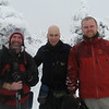 with Marty and Greg atop North Kinsman