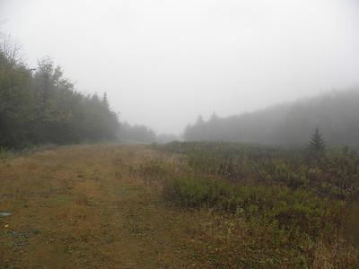 A foggy Cleveland Notch
