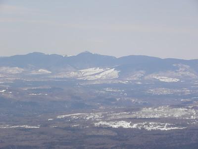 North peak, Goose Eye and Mt. Carlo