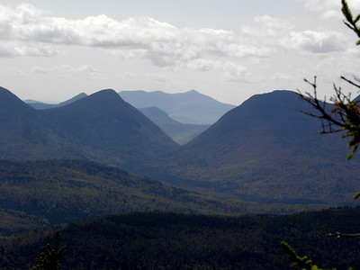 Another view of Carrigan Notch with Chocorua in the back