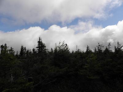 Pesky clouds billow above Zealand Ridge