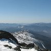Southern Presi's, Willey Range and way off on the right, Franconia Ridge capped in snow