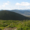 the look back to Pierce, the Willey Range, the Twins and Franconia Ridge