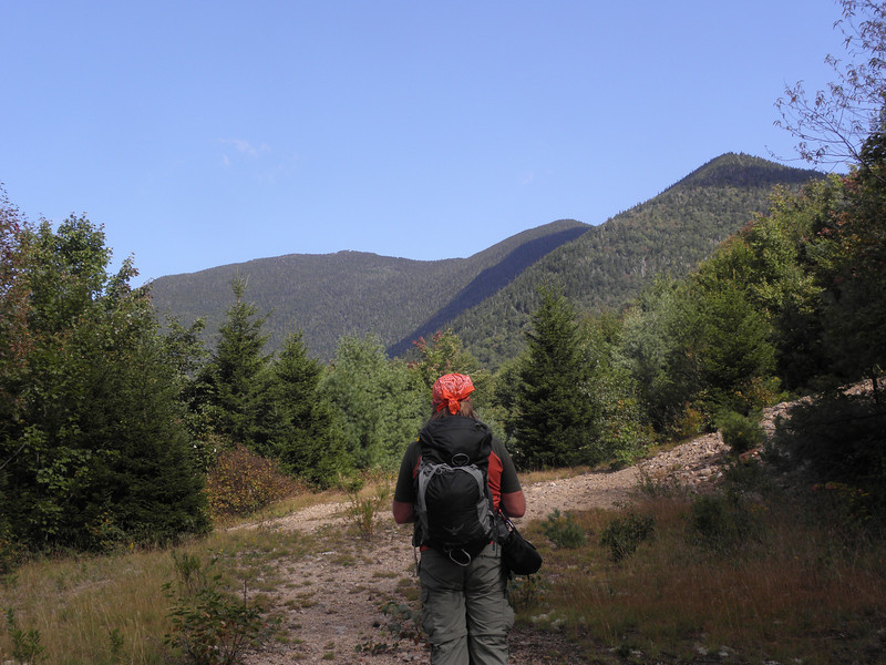 Interesting view of Signal Ridge and Carrigan