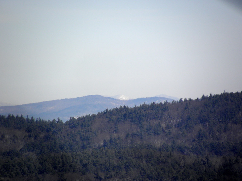 Hersey Mtn in front, Whiteface and Passaconaway behind