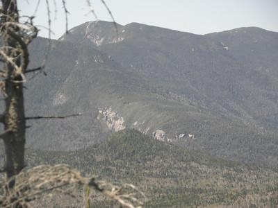 Osceola with the E Osceola cliffs