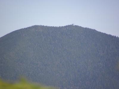 Carrigan summit from near the E Hunt summit