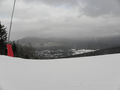 Looking down to Bretton Woods