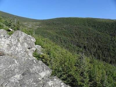 Ravine below Glen Boulder
