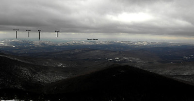 View right of Mendon to Lake George region in the far background