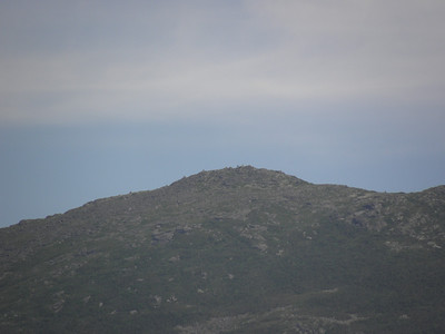Madison summit, the cairns are visible