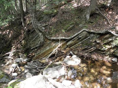 Looks like shale on a brook down low