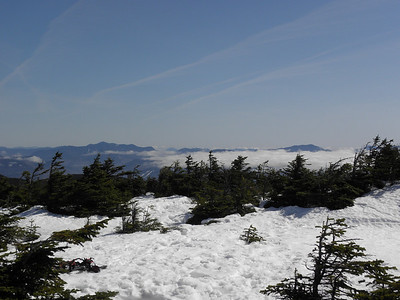 Looking down the Kanc, Kearsarge North in the back