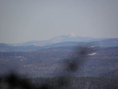 Chocorua on a small view along the way
