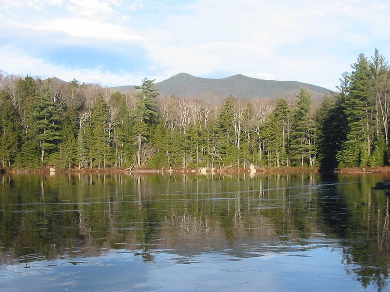 Black Pond with a skim of ice