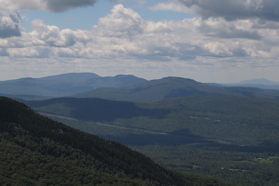 Smart, Cube and Piermont form the summit, Ascutney at right