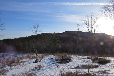 Kearsarge and Black from the clearing