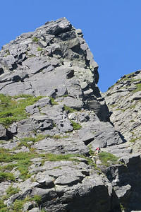 Rock climbers on the Pinnacle