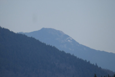 Chocorua peeking out