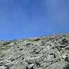 nearing the upper junction with the Tuckerman Ravine Trail, getting ready to join the line to the summit