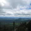 view from the south summit of Whiteface