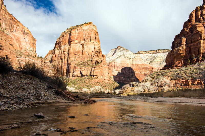Angel's Landing and the Virgin River