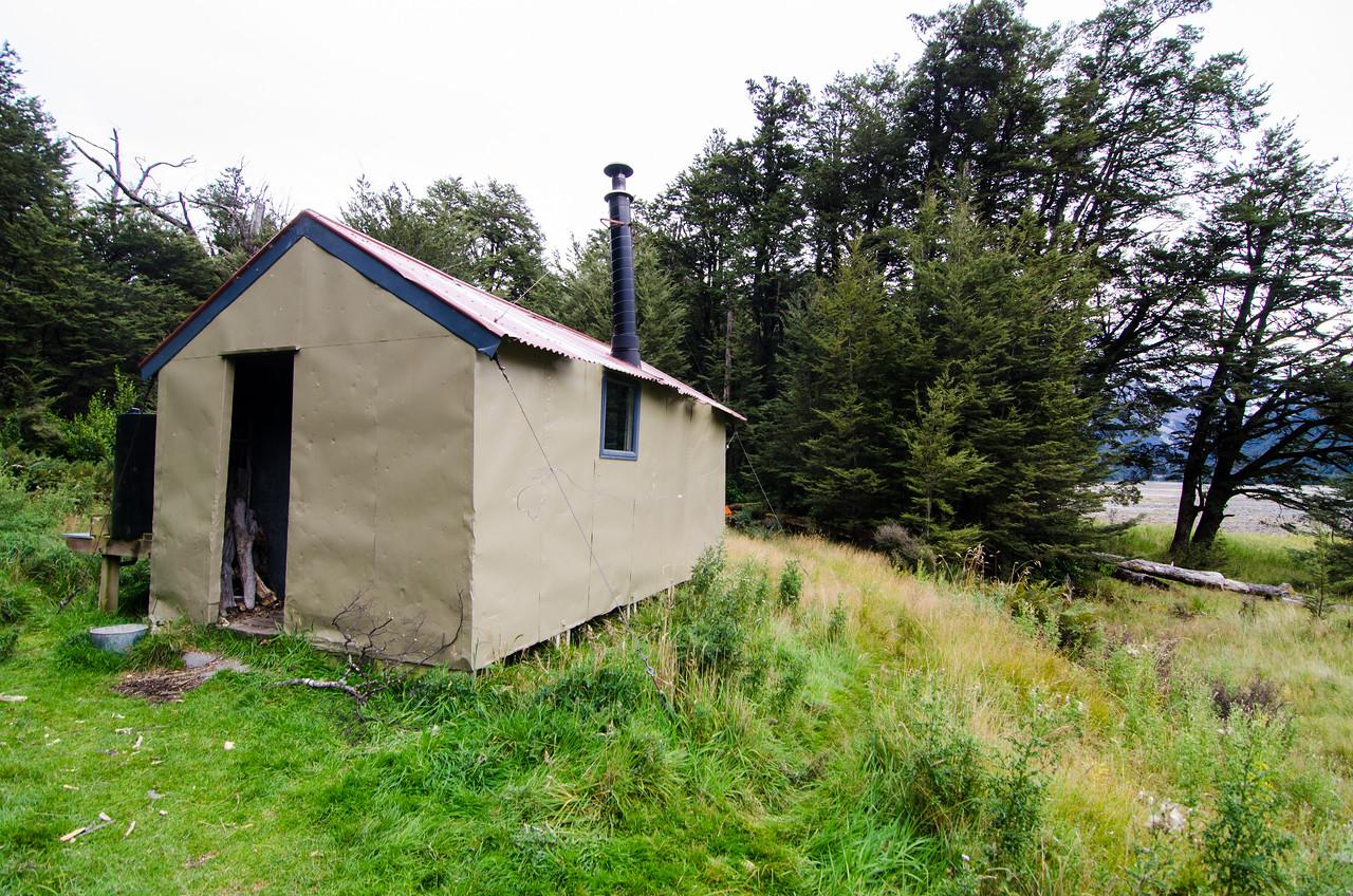 Anti Crow Hut in the Waimakariri Valley