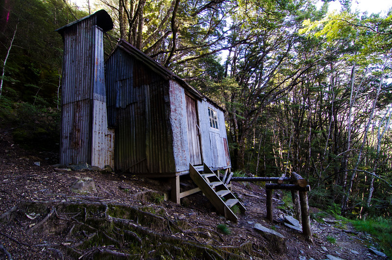 Earnslaw Hut is located just below the entrance to Kea Basin