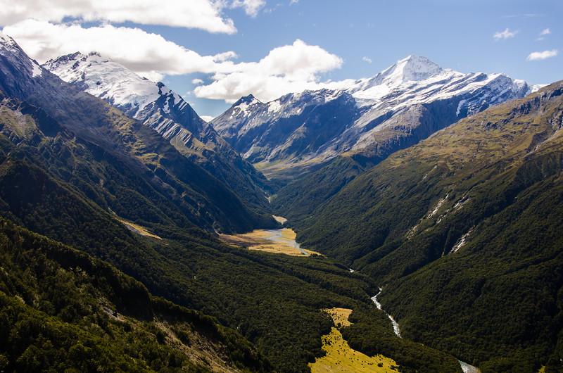 Mt Barff and Mt Aspiring