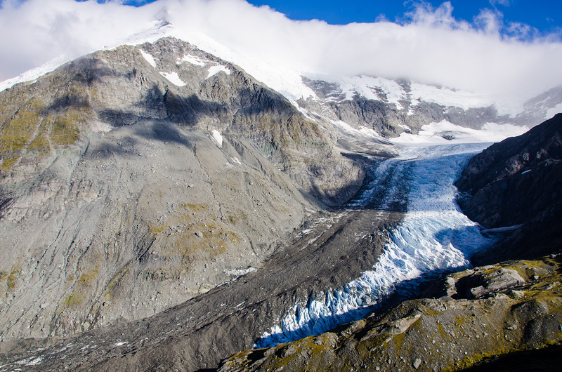 Mt Edward and the Dart Glacier