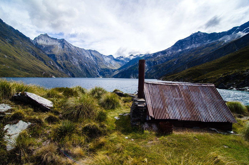Lochnagar Hut.  Probably my favorite in New Zealand.