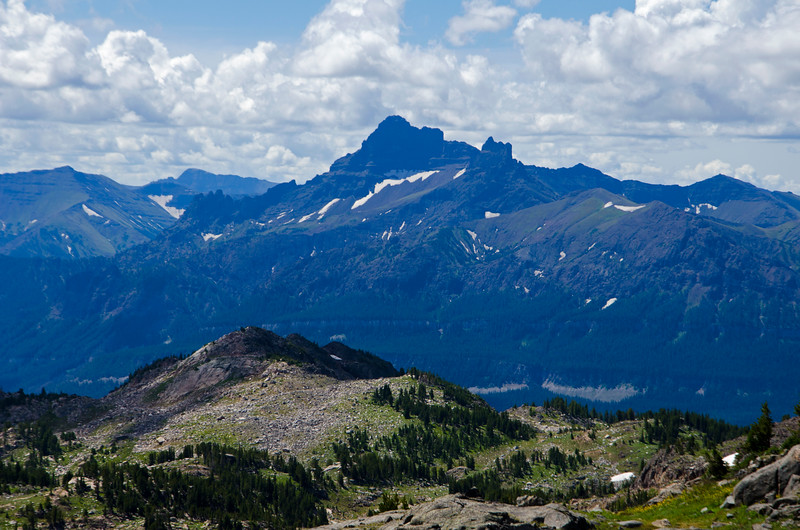 Pilot Peak from the ridge