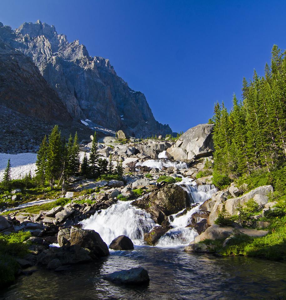 A nice little waterfall near camp