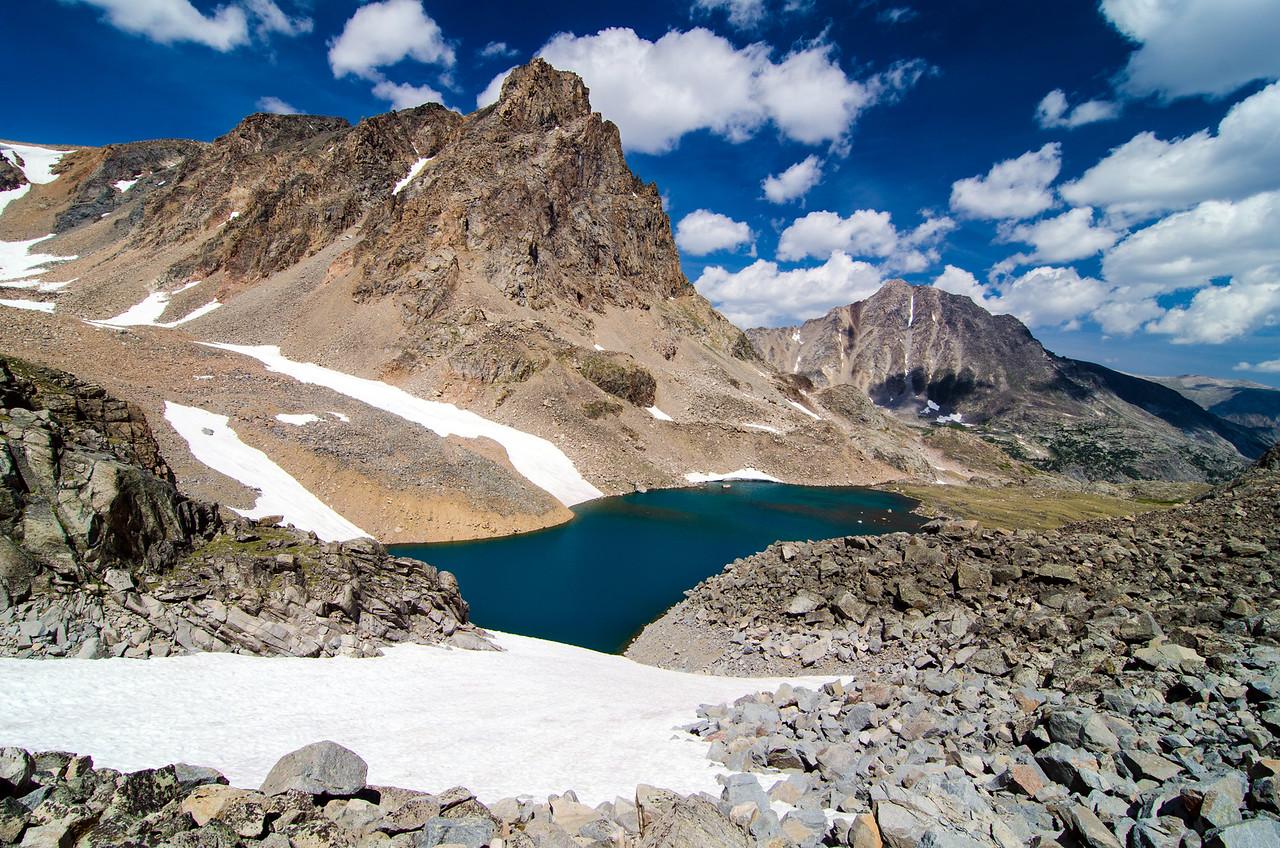 Sky Pilot Lake, Absaroka-Beartooth Wilderness, Montana