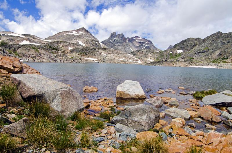 A Sky Top Lake