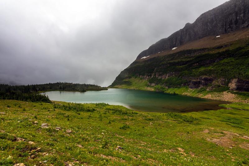 The lake at Shangrila
