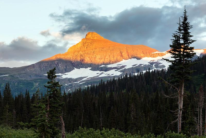 Alpenglow on Mt Logan