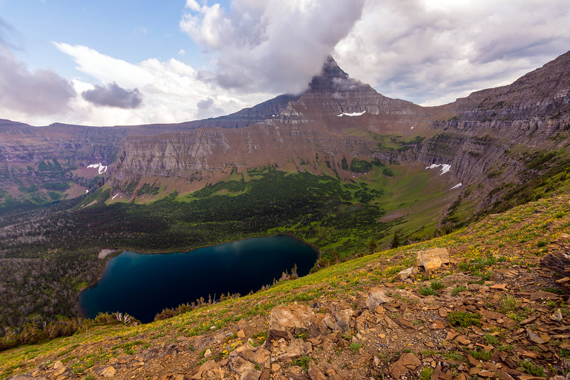Oldman Lake and Flinsch Peak