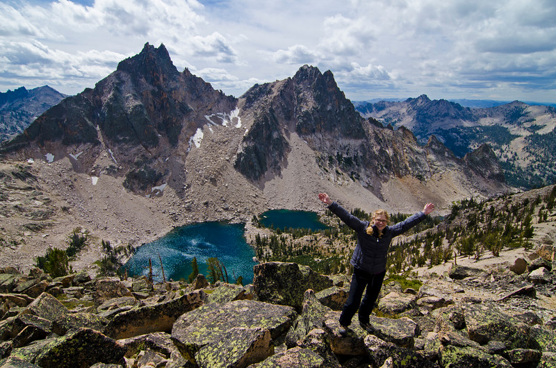 Packrat Peak, Warbonnet Lakes, and Tara