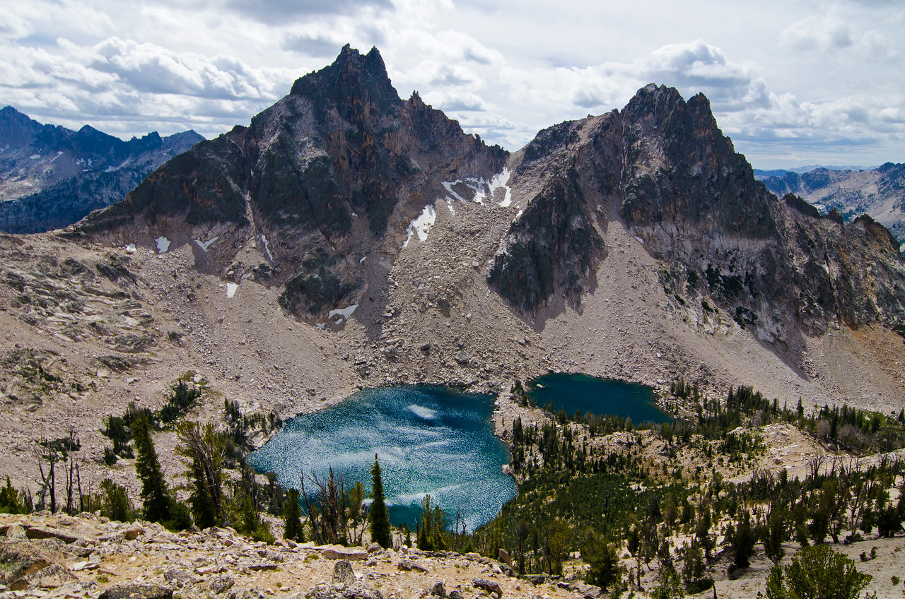 Warbonnet Lakes and Packrat Peak