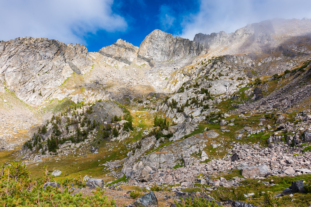 Beehive Peak and and the upper basin