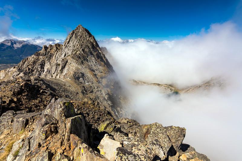 Beehive Peak from Pt 10602