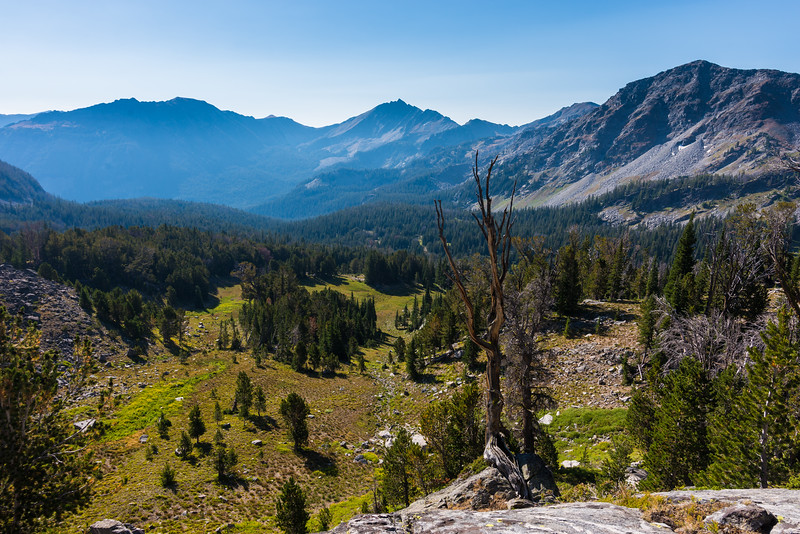 Wilson Peak and the upper Hellroaring Basin
