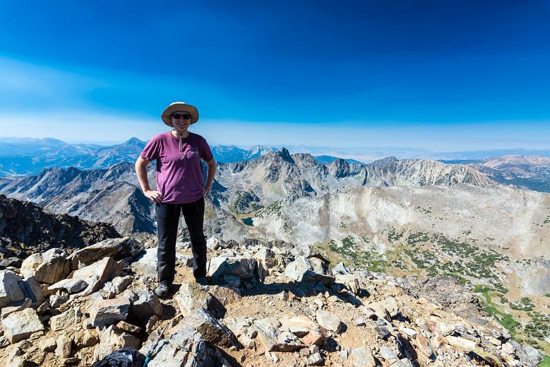 Tara on the summit