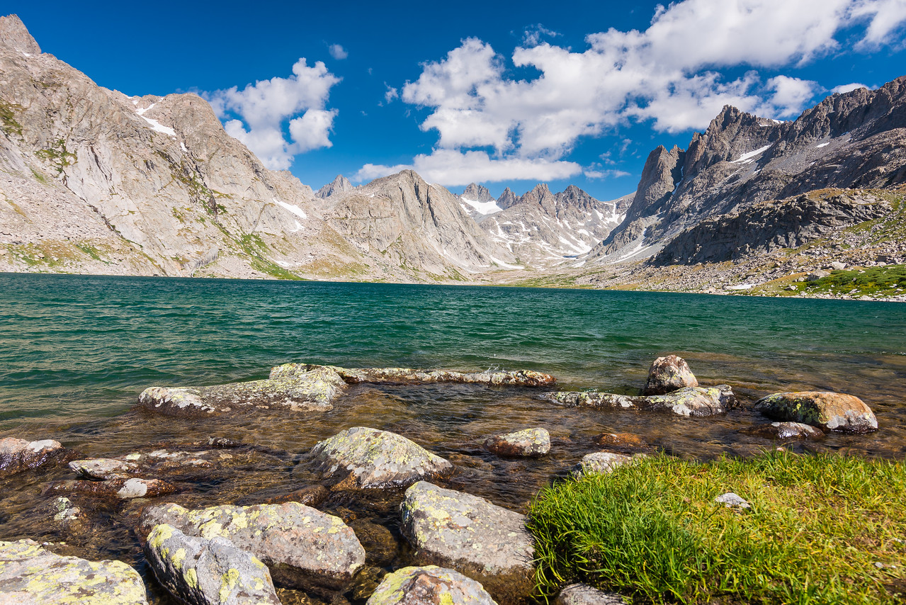 Upper Lake in Titcomb Basin