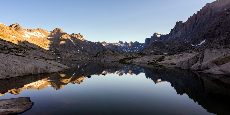 Morning in Titcomb Basin