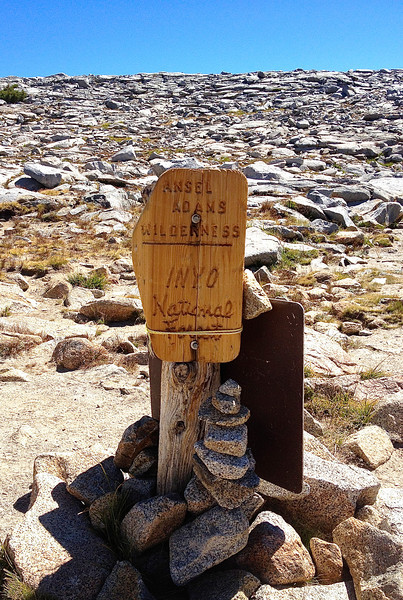 Pass thru YNP to Ansel Adams Wilderness