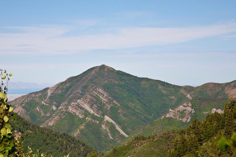 Grandeur Peak and Church Fork across the canyon, ( Millcreek).
