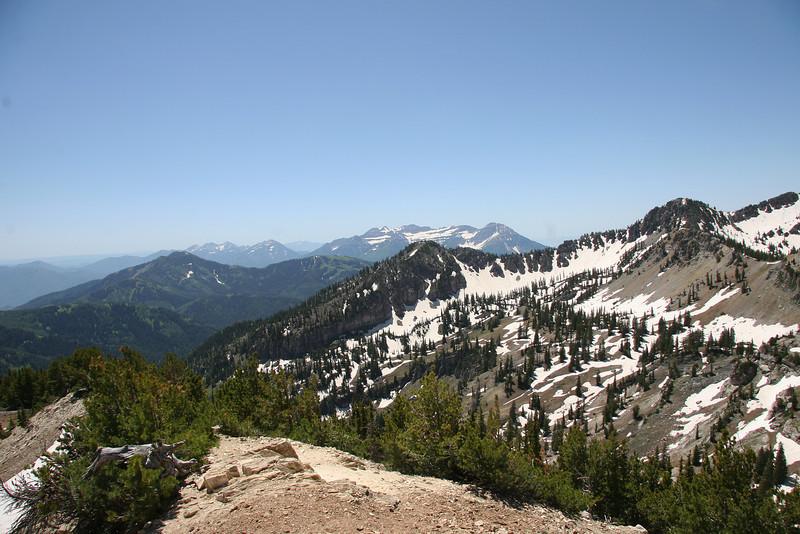 Mt. Timpanogos, from the summit.